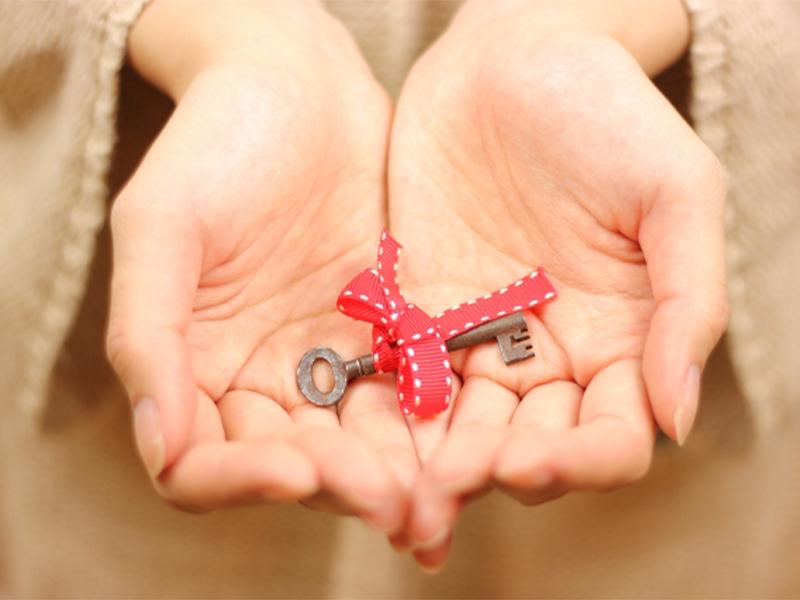 鍵をお渡し