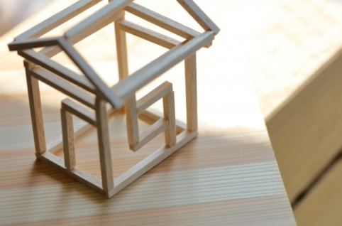 木造軸組住宅の模型
